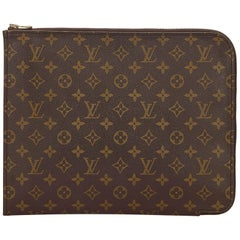 Louis Vuitton Brown Monogram Poche Document