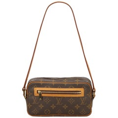Louis Vuitton Brown Monogram Pochette Cite