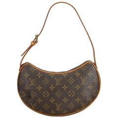 Louis Vuitton Brown Monogram Pochette Croissant