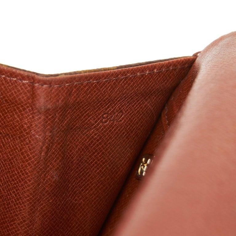 Louis Vuitton Brown Monogram Pochette Dame For Sale 2