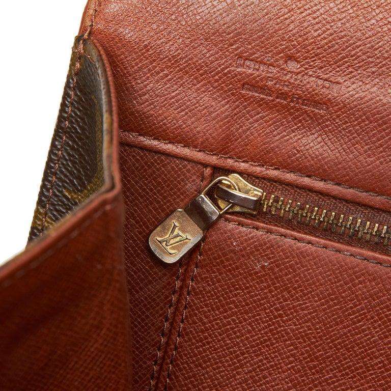 Louis Vuitton Brown Monogram Pochette Dame For Sale 3