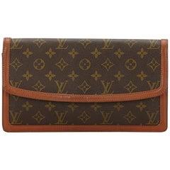 Louis Vuitton Brown Monogram Pochette Dame