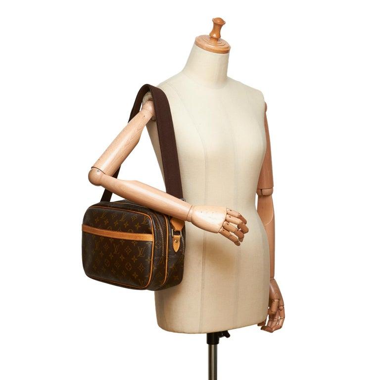 Louis Vuitton Brown Monogram Reporter PM For Sale 5