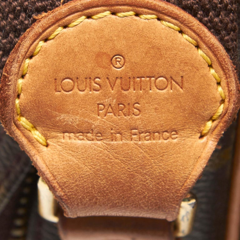 Louis Vuitton Brown Monogram Reporter PM For Sale 1