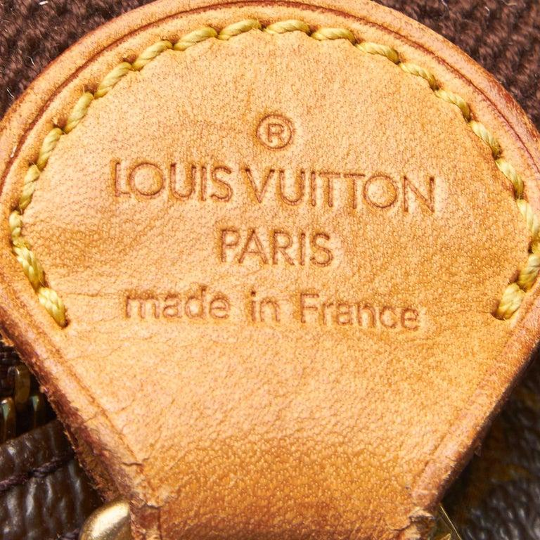 Louis Vuitton Brown Monogram Reporter PM For Sale 1