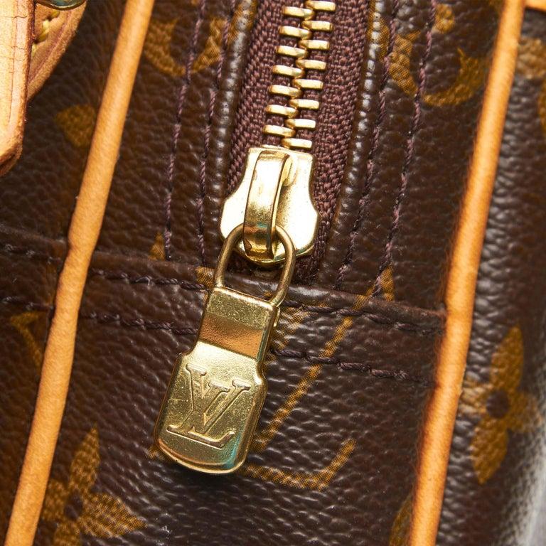 Louis Vuitton Brown Monogram Reporter PM For Sale 3