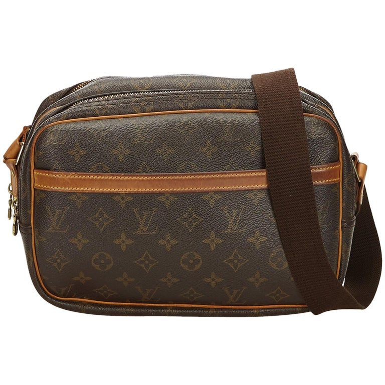 Louis Vuitton Brown Monogram Reporter PM For Sale