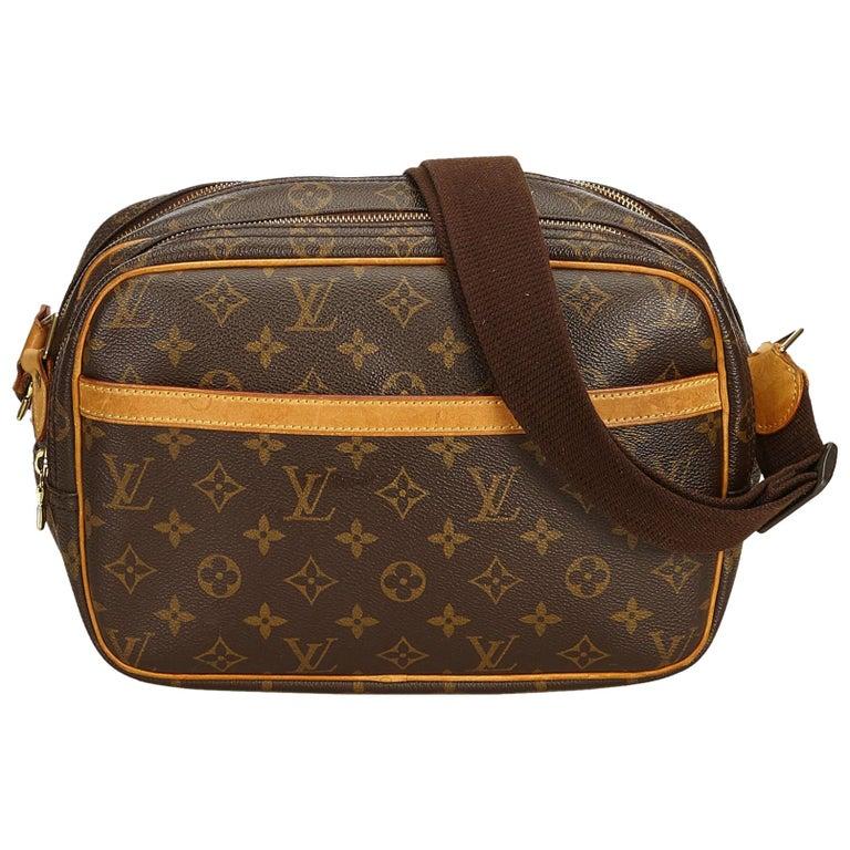 Louis Vuitton Brown Monogram Reporter PM For Sale