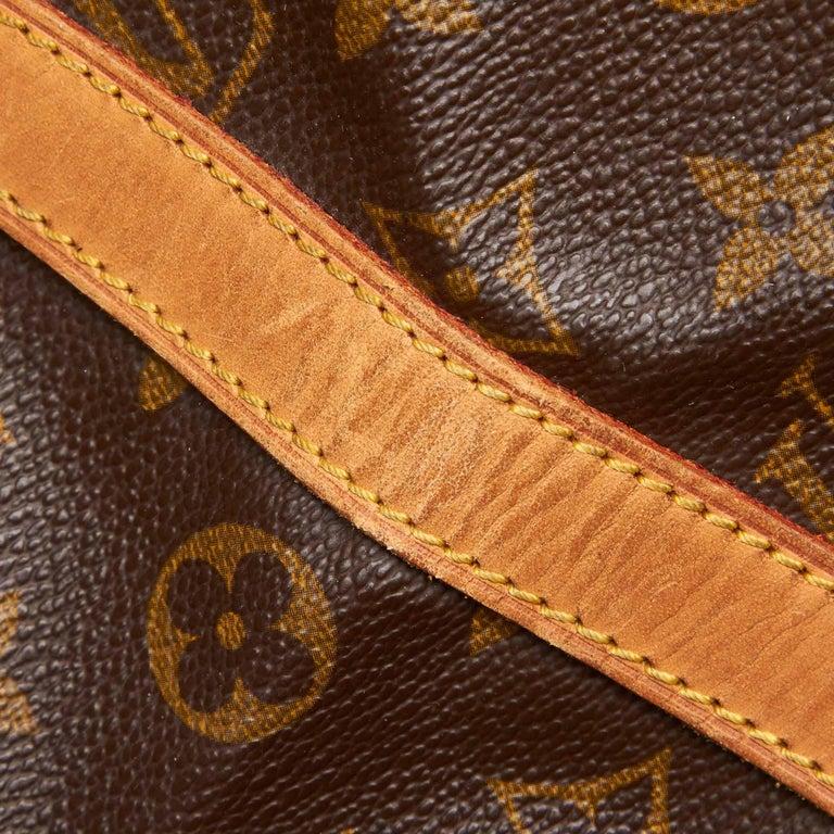 Louis Vuitton Brown Monogram Sac Souple 35 For Sale 6