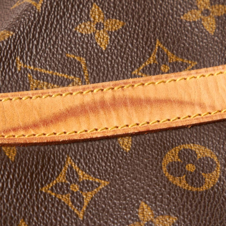 Louis Vuitton Brown Monogram Sac Souple 35 For Sale 7