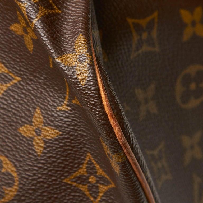 Louis Vuitton Brown Monogram Sac Souple 35 For Sale 8