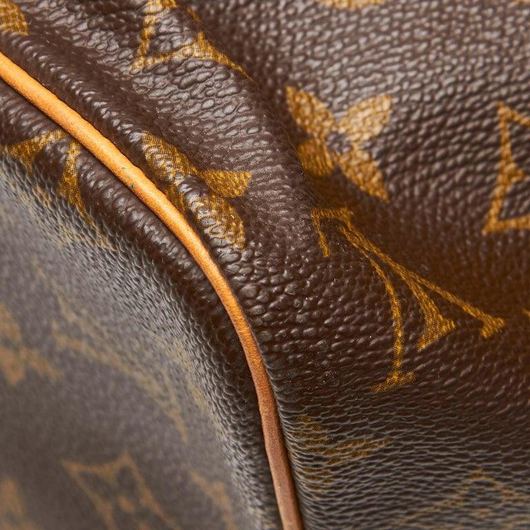 Louis Vuitton Brown Monogram Sac Souple 35 For Sale 9