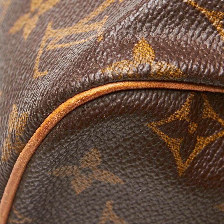 Louis Vuitton Brown Monogram Sac Souple 35 For Sale 10