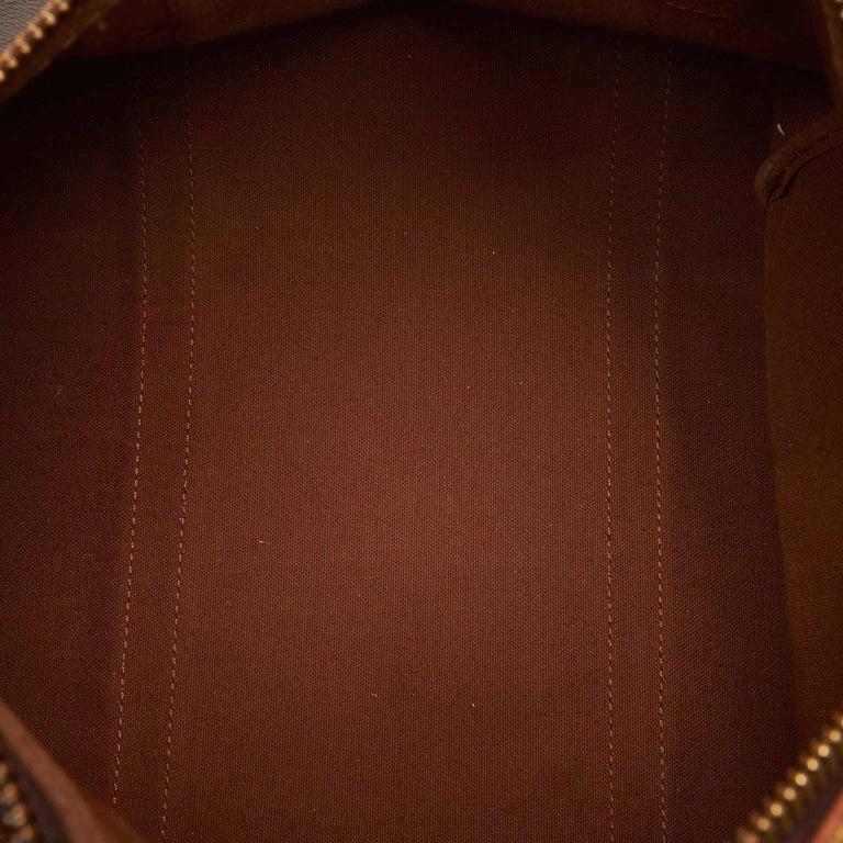Louis Vuitton Brown Monogram Sac Souple 35 For Sale 1