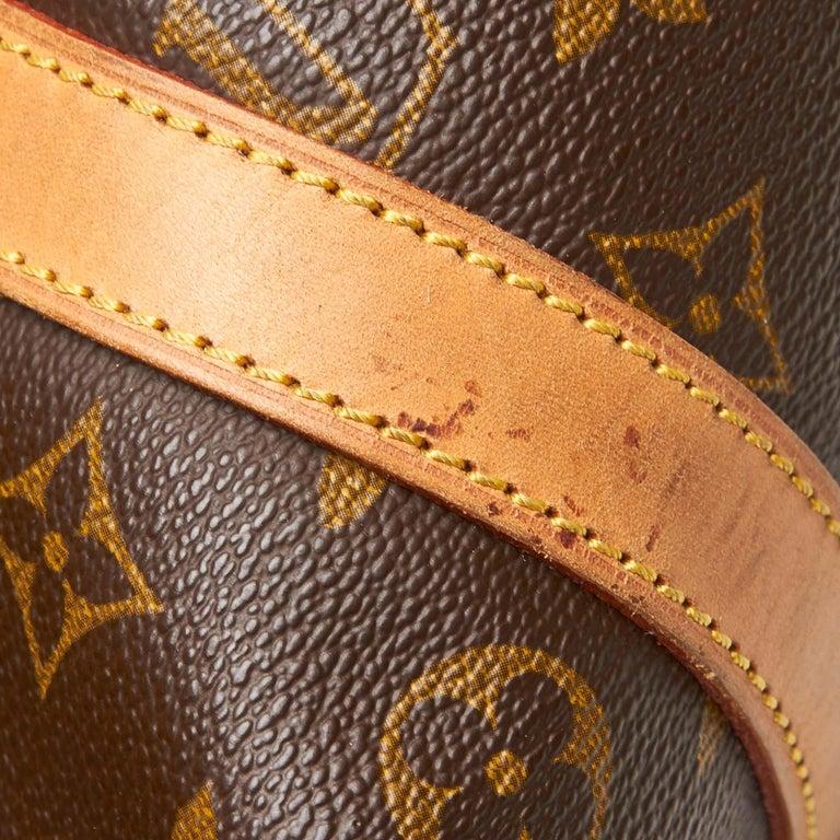 Louis Vuitton Brown Monogram Sac Souple 35 For Sale 4