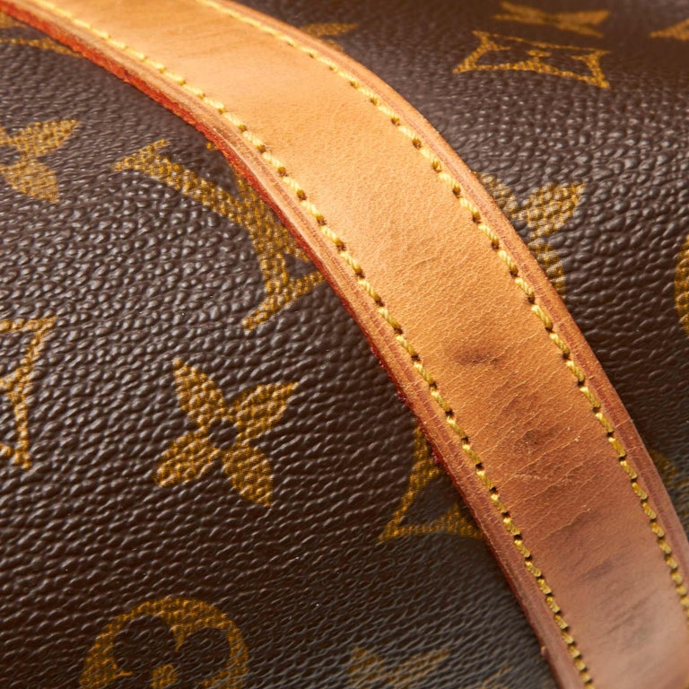 Louis Vuitton Brown Monogram Sac Souple 35 For Sale 5