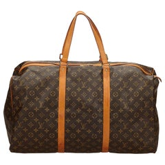 Louis Vuitton Braune Monogram Sac Souple Tasche 55