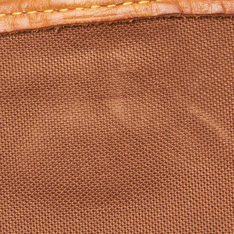 Louis Vuitton Brown Monogram Sologne For Sale 7