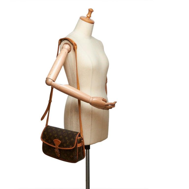 Louis Vuitton Brown Monogram Sologne For Sale 8