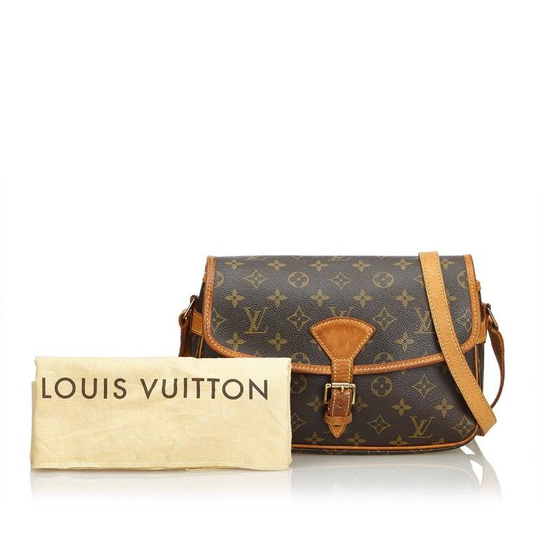 Louis Vuitton Brown Monogram Sologne For Sale 9