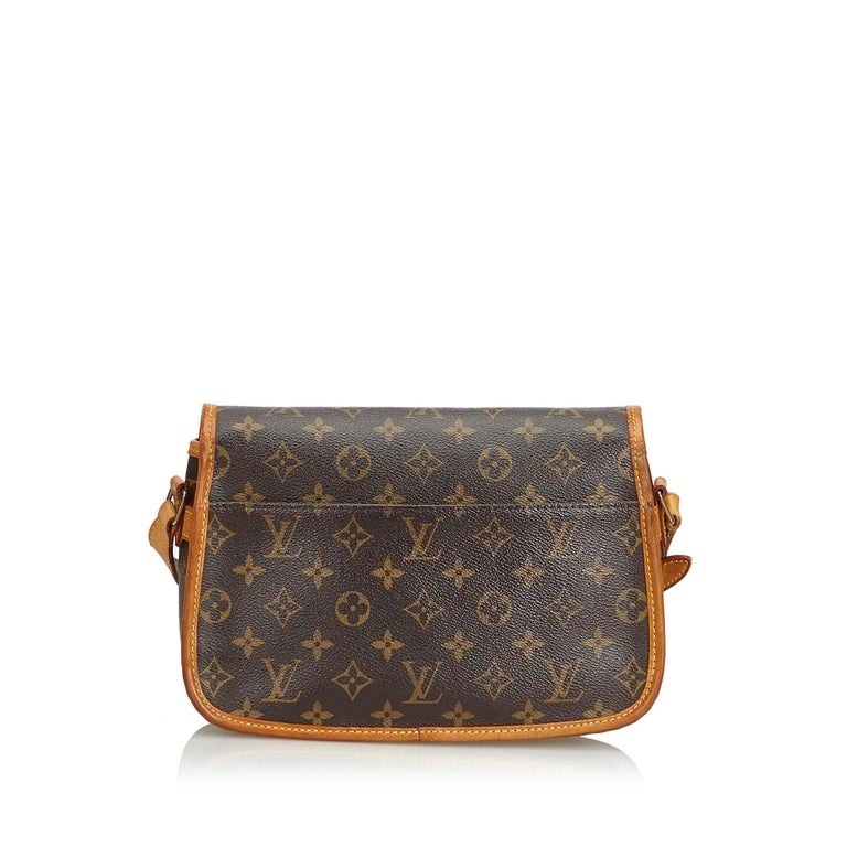 Louis Vuitton Brown Monogram Sologne In Good Condition For Sale In Orlando, FL