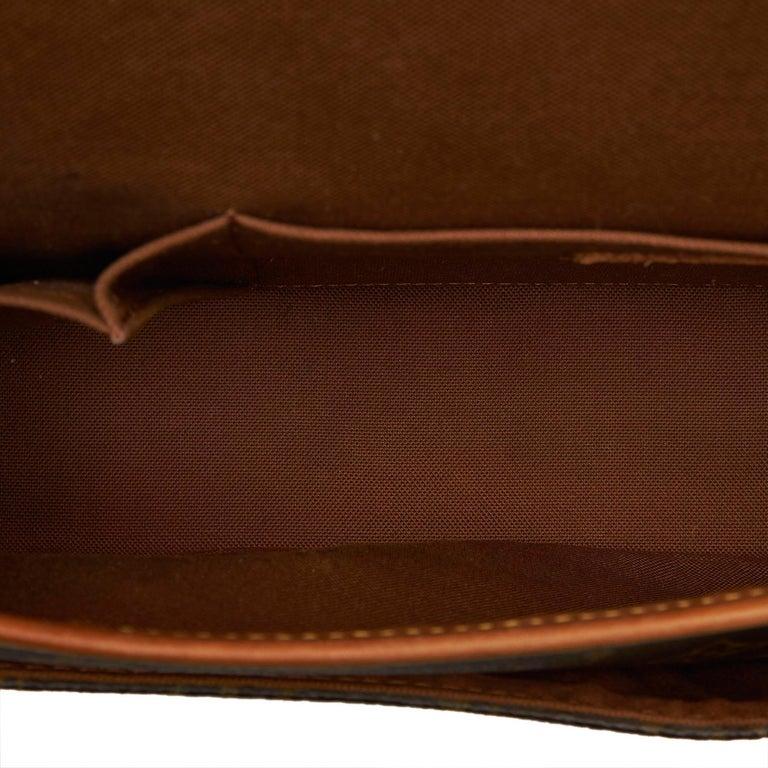 Louis Vuitton Brown Monogram Sologne For Sale 1