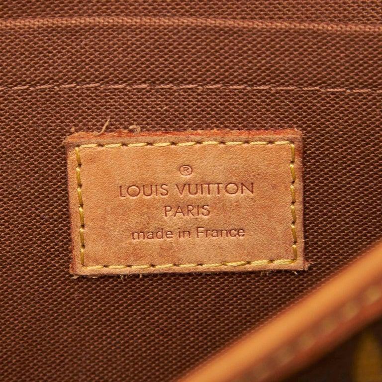 Louis Vuitton Brown Monogram Sologne For Sale 2