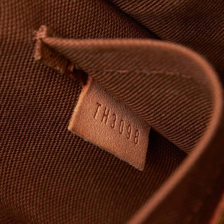 Louis Vuitton Brown Monogram Sologne For Sale 3