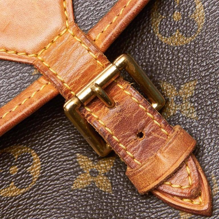 Louis Vuitton Brown Monogram Sologne For Sale 4