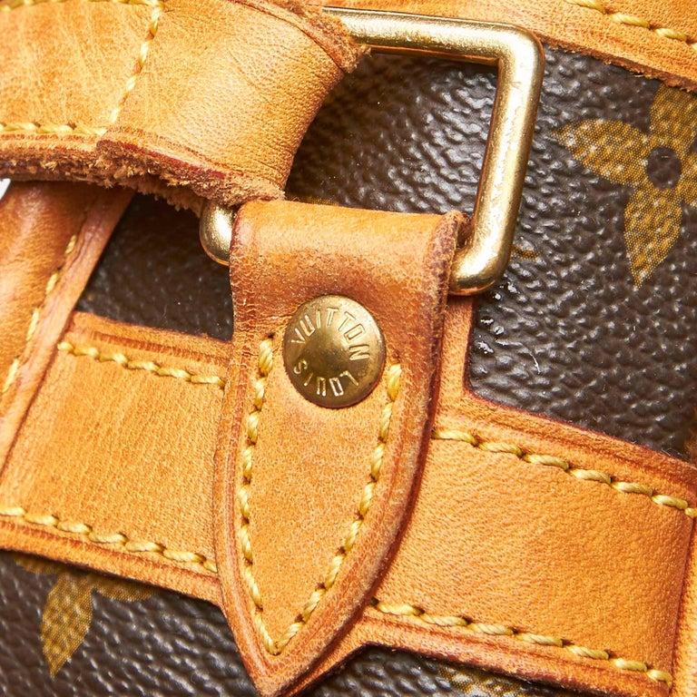 Louis Vuitton Brown Monogram Sologne For Sale 5