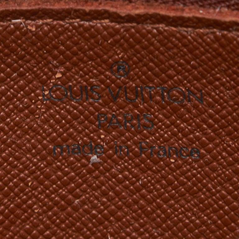 Louis Vuitton Brown Monogram Trocadero 27 For Sale 2