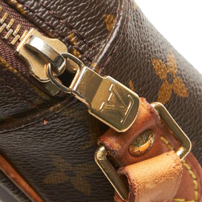 Louis Vuitton Brown Monogram Trocadero 27 For Sale 5