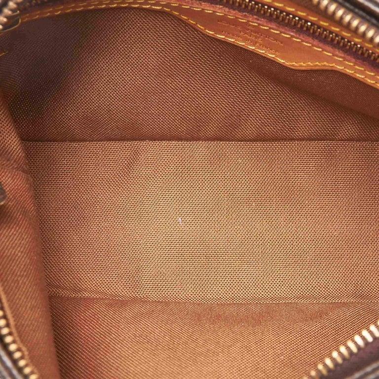 Women's Louis Vuitton Brown Monogram Trotteur For Sale