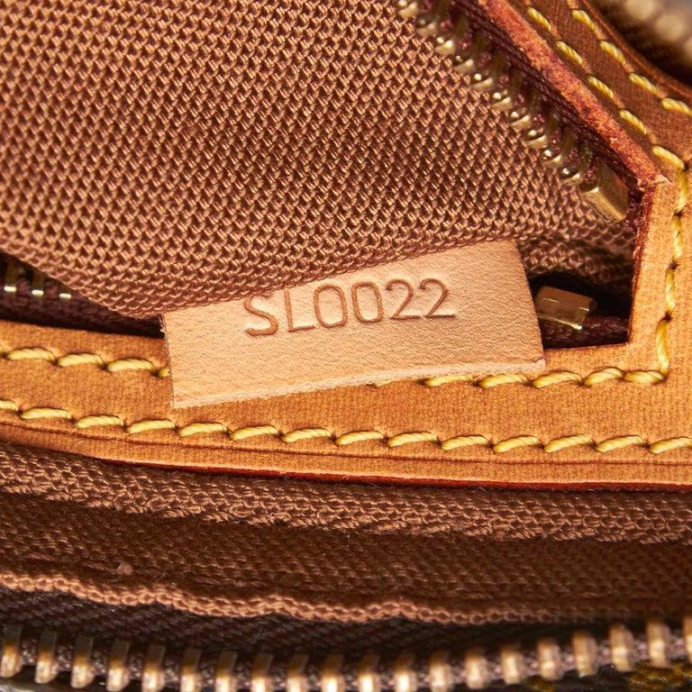 Louis Vuitton Brown Monogram Trotteur For Sale 2