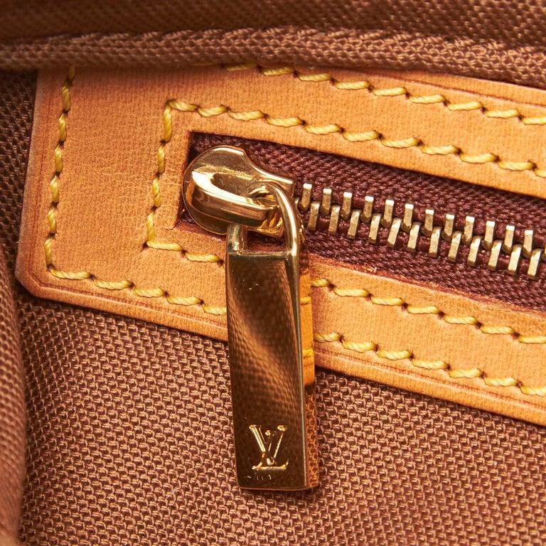 Louis Vuitton Brown Monogram Trotteur For Sale 3