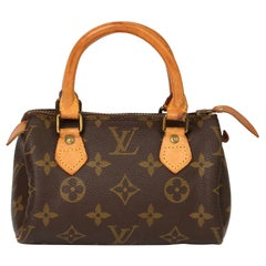 Louis Vuitton Brown Monogram Vintage Mini HL Speedy