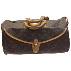 Louis Vuitton Brown Monogram Vintage Satchel