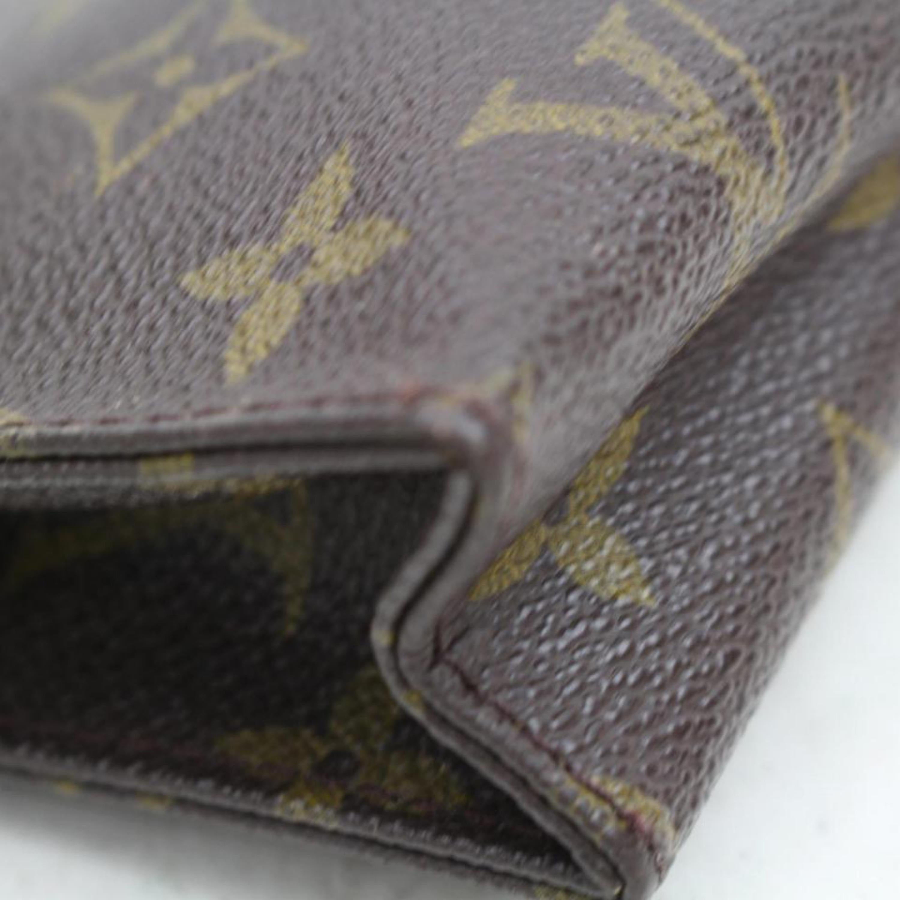 08b2b1430fe0 Louis Vuitton Brown Poche Toiletry Pouch 15 Toilette 868430 Cosmetic Bag  For Sale at 1stdibs