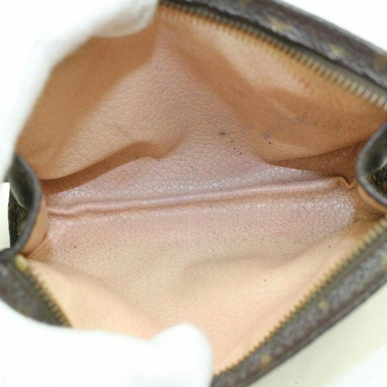 24e300e7c96b Louis Vuitton Brown Poche Toiletry Pouch 15 Toilette 869614 Cosmetic Bag  For Sale 5