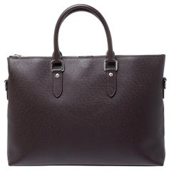 Louis Vuitton Brown Taiga Leather Anton Soft Briefcase