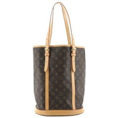 Louis Vuitton Bucket Bag Monogram Canvas GM