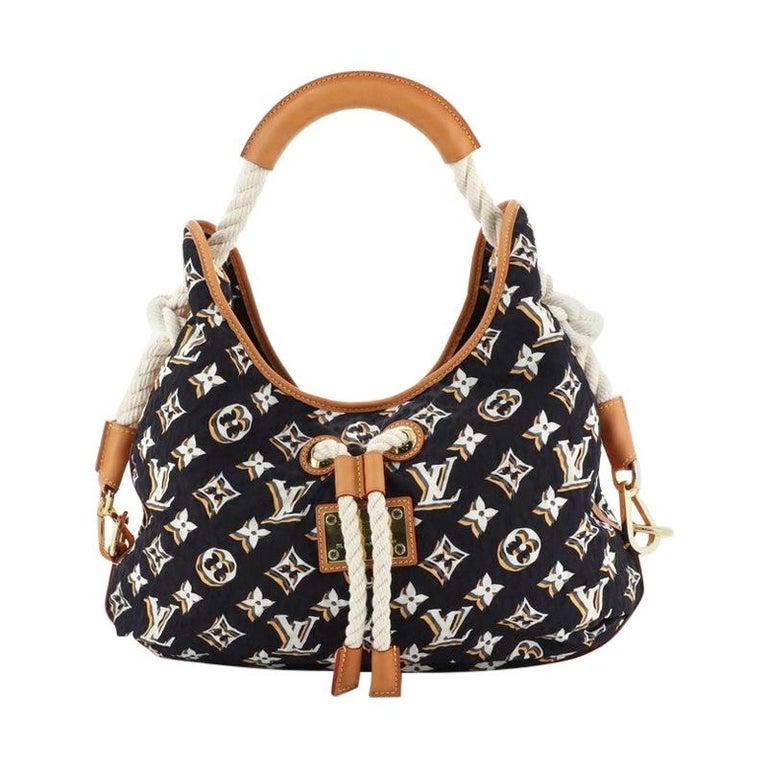 Louis Vuitton Bulles Handbag Monogram Nylon MM For Sale