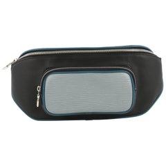 Louis Vuitton Bum Bag Epi Leather and Monogram Eclipse Canvas