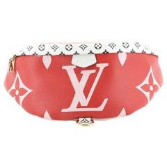 Louis Vuitton Bum Bag Limited Edition Colored Monogram Giant