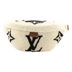 Louis Vuitton Bum Bag Monogram Giant Teddy Fleece