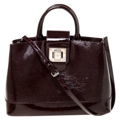 Louis Vuitton Burgundy Electric Epi Leather Mirabeau GM Bag