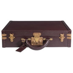 Louis Vuitton Burgundy Leather Attaché Case