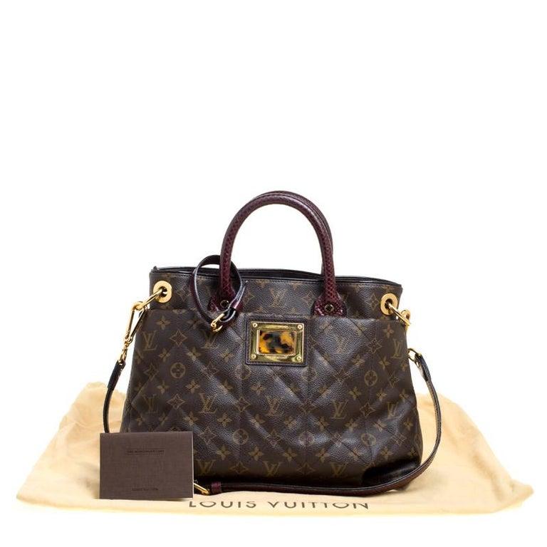 Louis Vuitton Burgundy Monogram Canvas Limited Edition Etoile Exotique MM Bag For Sale 4