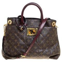 Louis Vuitton Burgundy Monogram Canvas Limited Edition Etoile Exotique MM Bag