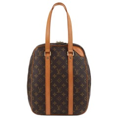 LOUIS VUITTON c.1994 Limited Edition Golf Cup Hawaii LV Monogram Excursion Bag